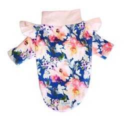Spring Floral Flutter T-Shirt - Ruff Stitched