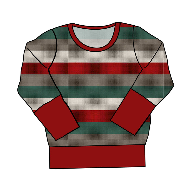Crewneck - Holiday Stripes