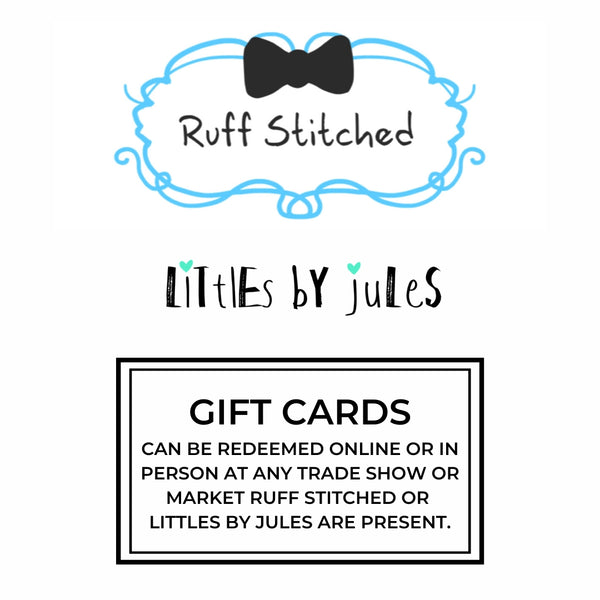 GIFT CARDS - Ruff Stitched