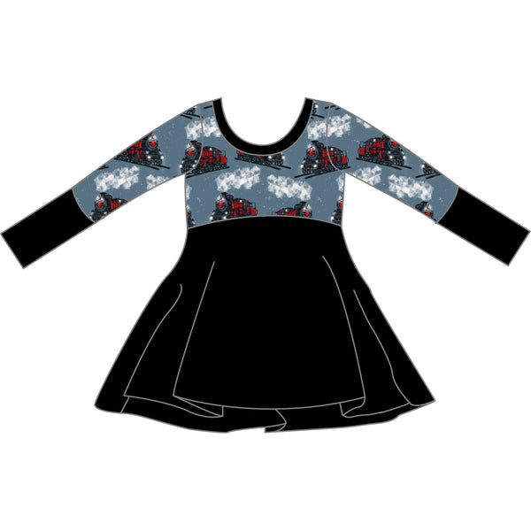 Grow With Me Dress - Midnight Train