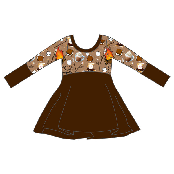 Grow With Me Dress - I Love You S'more