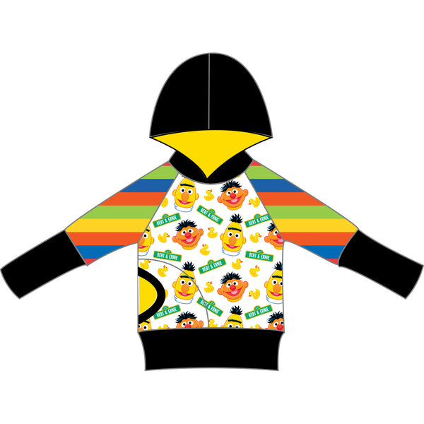 Grow With Me Hoodie - Bert & Ernie Ducky Time
