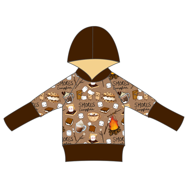 Grow With Me Hoodie - I Love You S'more