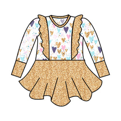 Grow with Me Peplum Sparkle with all your Heart - Ruff Stitched