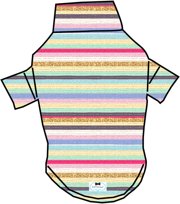 Sparkle between the lines T-Shirt - Ruff Stitched