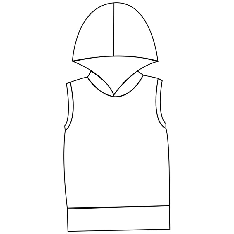 Children's Hooded Tank Top