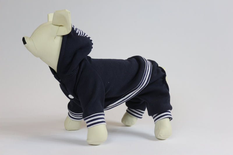 DOGAwear - Navy Stripes - Ruff Stitched