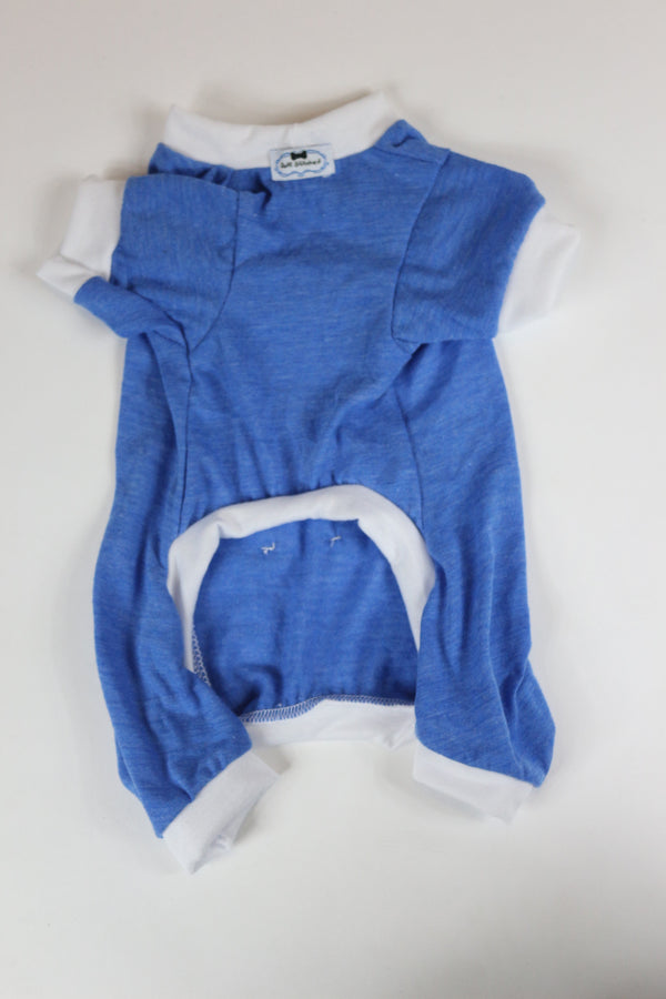 Lounge Around Onesie - Blue/White - Ruff Stitched