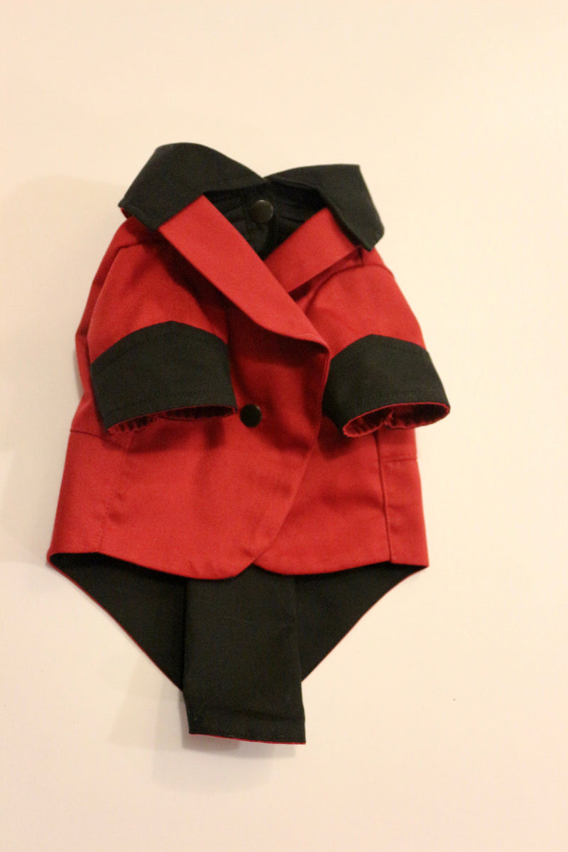 The Red Ruxedo - Black Shirt - Ruff Stitched