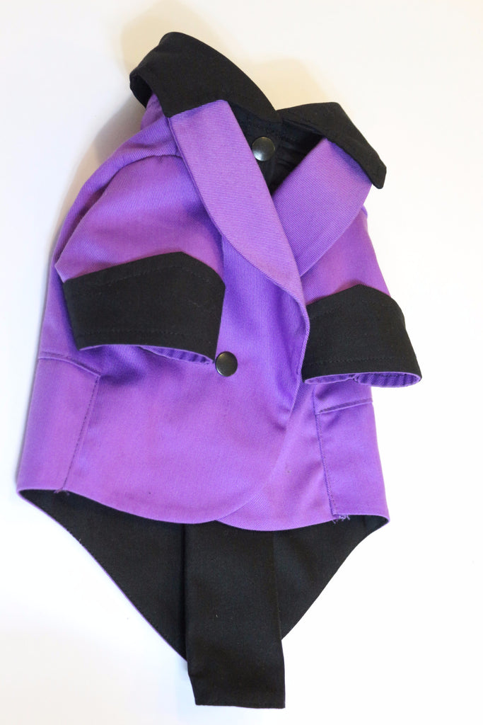 The Purple Ruxedo - Black Shirt