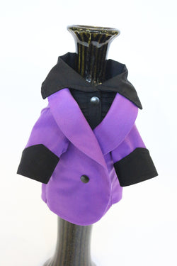 The Purple Ruxedo - Black Shirt - Ruff Stitched