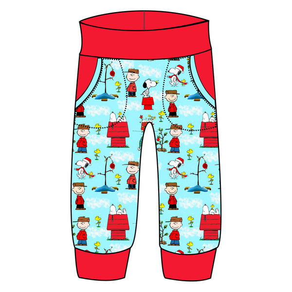 Grow With Me Joggers - Peanuts Holiday