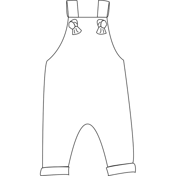 The Snuggle Is Real - Knotted Overalls Kids