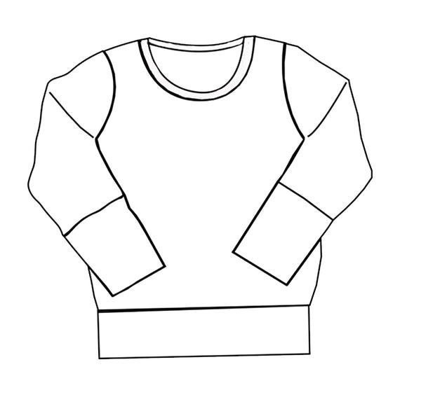 Adult Crewneck Sweatshirt Top