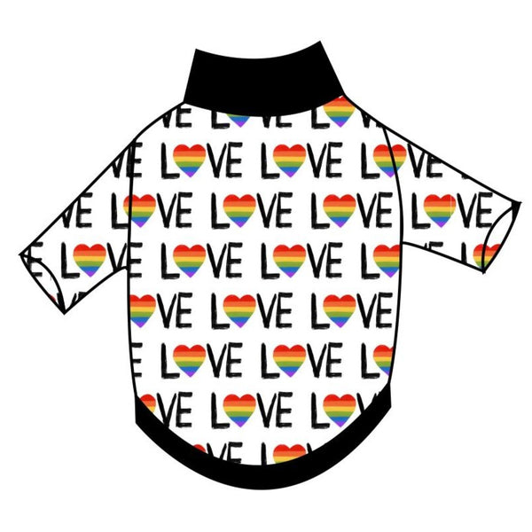 LOVE T-Shirt - Ruff Stitched
