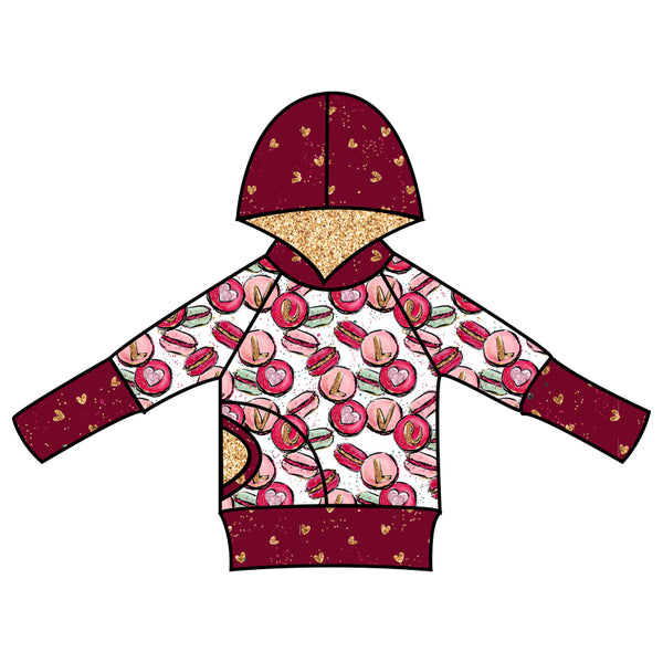 Grow With Me Hoodie Macaron Love - Ruff Stitched