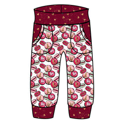 Grow With Me Joggers Macaron Love - Ruff Stitched