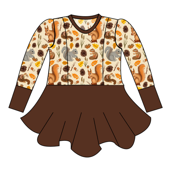 Peplum - Nuts For Fall