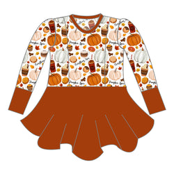 Peplum - Pumpkin Spice & Everything Nice