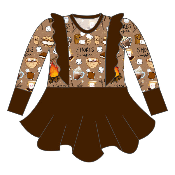 Peplum - I Love You S'more