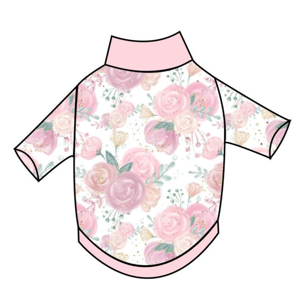 Pink Roses T-Shirt - Ruff Stitched