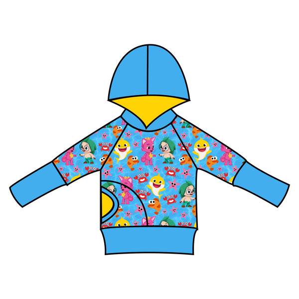 Grow With Me Hoodie Pinkfong & Friends - Ruff Stitched