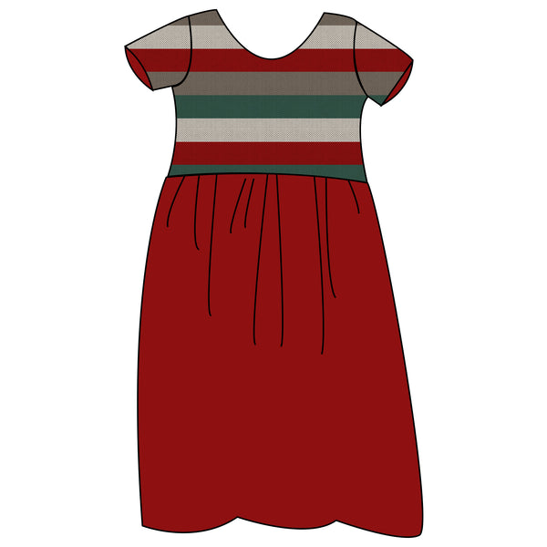 Boundless Maxi Dress - Holiday Stripes