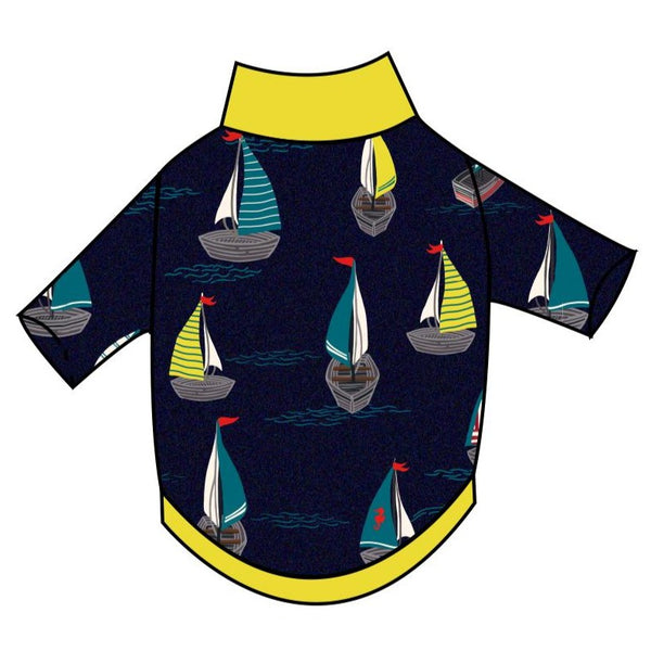 Sailboats T-Shirt - Ruff Stitched