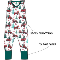 Grow with me Romper - Farmers Tree Market