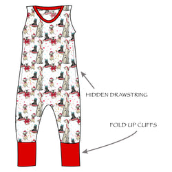 Grow with me Romper - Happy Dogmas