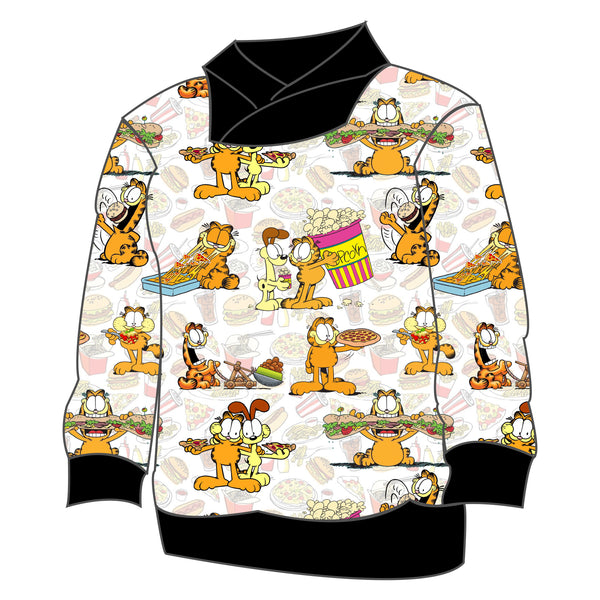 Varsity Pullover - Hungry Garfield