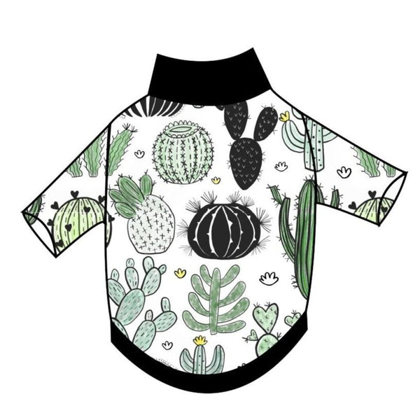 Watercolour Cacti T-Shirt - Ruff Stitched