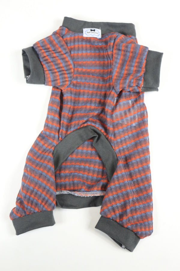 Onesies - Striped Gray Trim