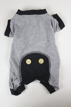 Onesies - Gray/Black - Ruff Stitched