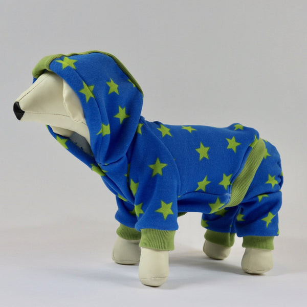 DOGAwear - Green Star - Ruff Stitched