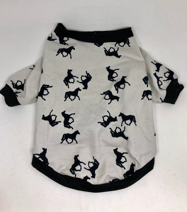 Organic Cotton T-Shirt - Horsing Around - Ruff Stitched