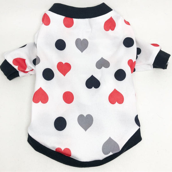 T-Shirt - Deck Of Hearts - Ruff Stitched