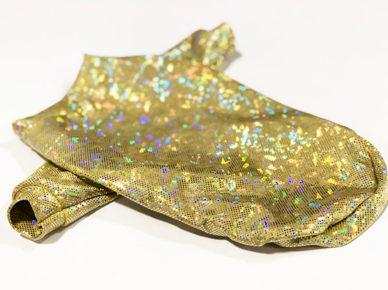 Gold Hologram T-shirt - Ruff Stitched