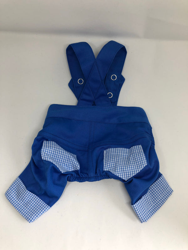 Puperalls - Blue Gingham - Ruff Stitched