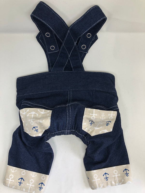 Puperalls - Anchors Away Denim - Ruff Stitched