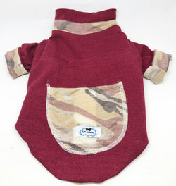 Reversible Maroon Wilderness - Ruff Stitched
