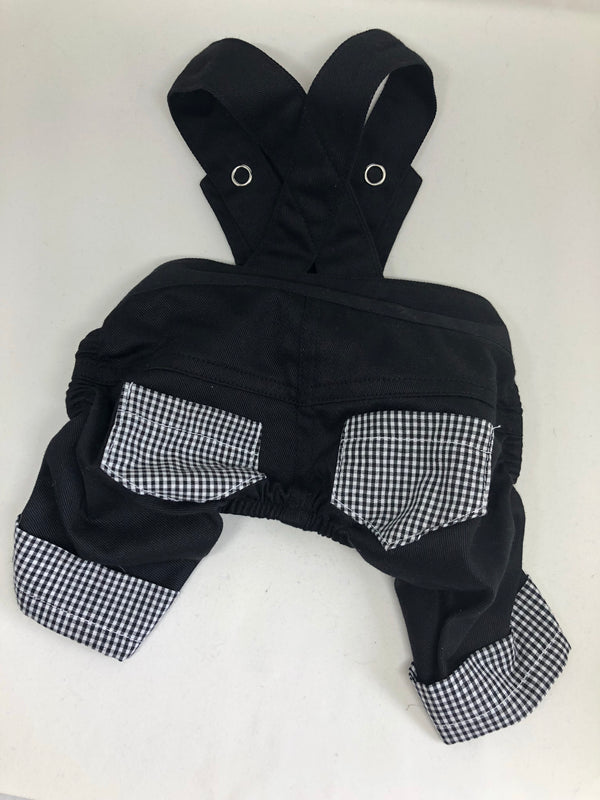 Puperalls - Black Gingham - Ruff Stitched