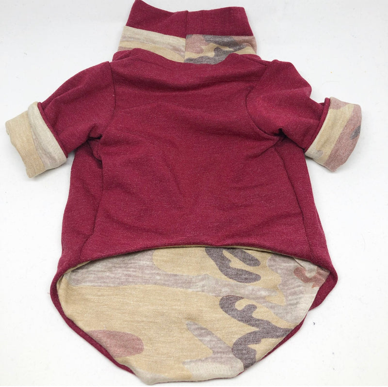 Reversible Maroon Wilderness