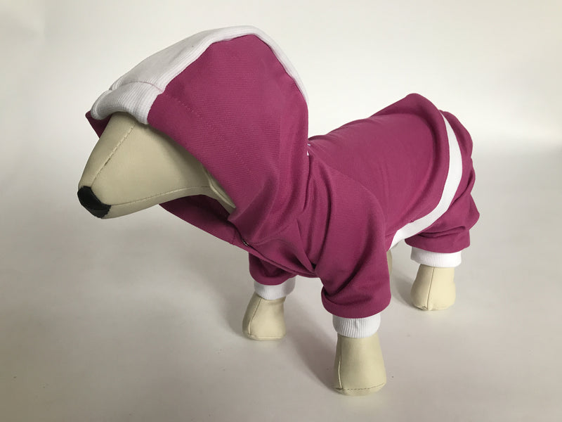 DOGAwear - Pink and White - Ruff Stitched