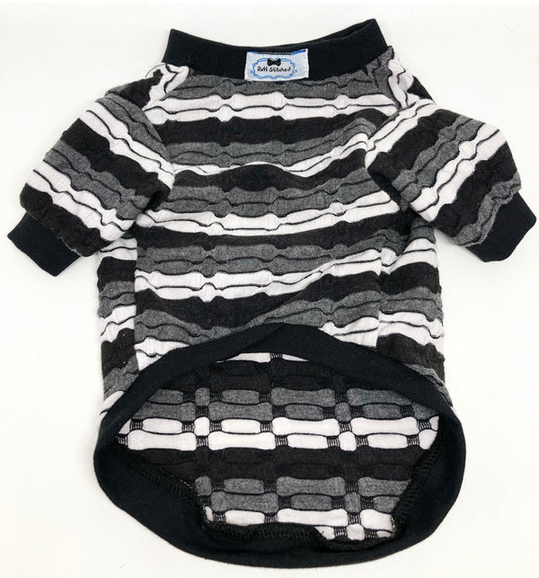 Jersey Shirt - Crooked Stripes - Ruff Stitched