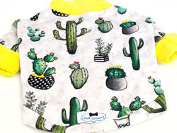 High Neck Jersey Shirt - Looking Sharp Cacti