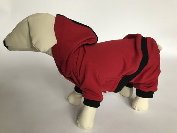 DOGAwear - Red & Black - Ruff Stitched