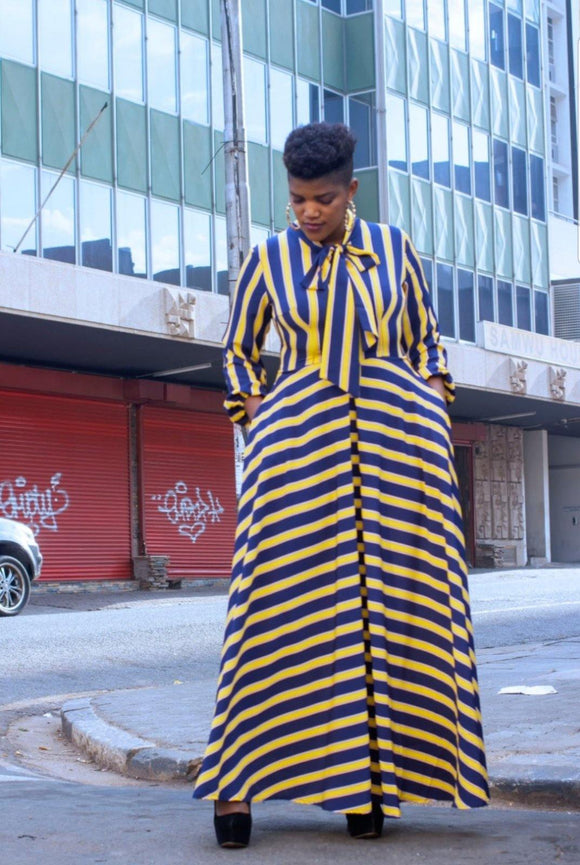 URBAN ZULU: Thulwana Dress - URBAN ZULU