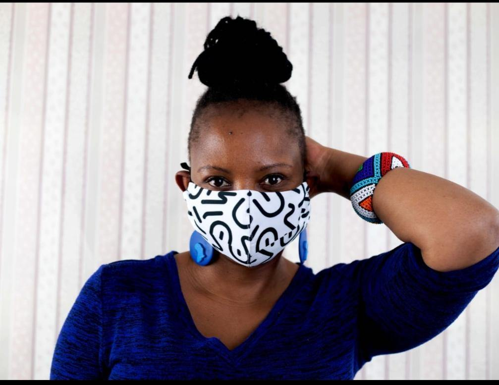 UZ Print Face Mask - URBAN ZULU