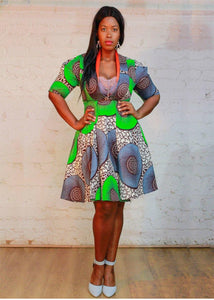 Urban Zulu: Toto Shirt Dress